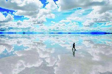 Invidente pasará  el Salar de Uyuni