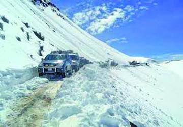El Senamhi prevé nevadas en las regiones de altitud