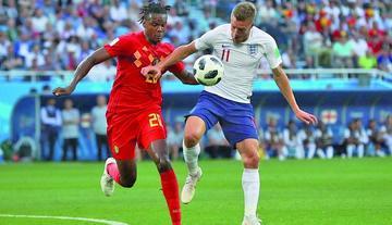 Bélgica e Inglaterra van por el tercer lugar