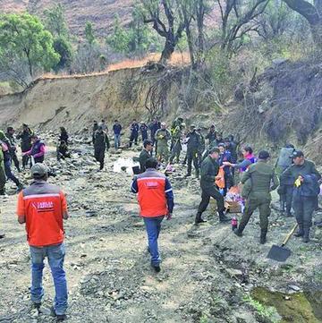 Incendio en la cuesta de Sama en Tarija está controlado