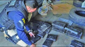 Brasil: decomisan media tonelada de plata procedente de Bolivia