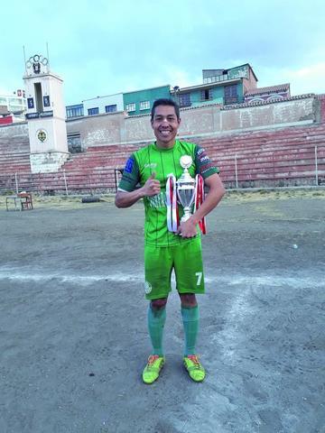 Diego Ardaya termina como goleador del torneo de la AFP