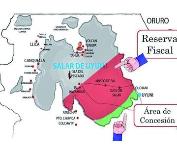 Piden investigar por qué redujeron la reserva del Salar de Uyuni en 1998