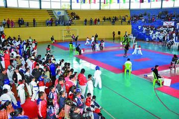 Potosí logra 18 medallas en el nacional de karate infantil