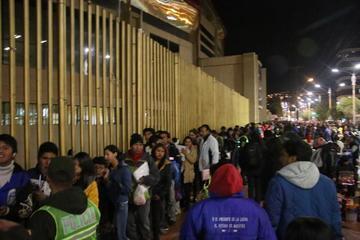 """Las puertas del coliseo """"Ciudad de Potosí"""" se abrirán a las 18:00"""