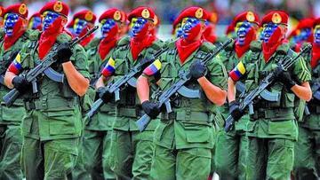 Advierten despliegue militar de Venezuela a la frontera de Colombia