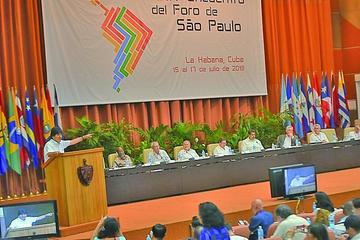Evo: Foro de San Pablo respalda la demanda marítima de Bolivia