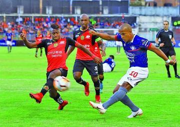 Wilstermann empata ante Deportivo Cuenca