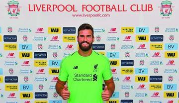 Liverpool ficha al portero brasileño Alisson