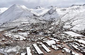 La nieve aún cae y las brigadas de apoyo van a las zonas afectadas