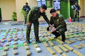 Gobierno: afectan al narcotráfico en más de 2 millones de dólares