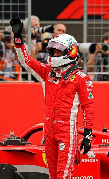 """Vettel logra la """"pole"""" en el GP de Alemania"""