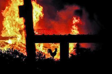Un incendio forestal en Grecia causa dos fallecidos y heridos