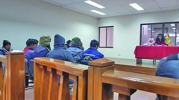 Mandan a Cantumarca a ocho jóvenes por robo de minerales