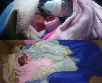 Una mujer abandona a su hija recién nacida en Potosí