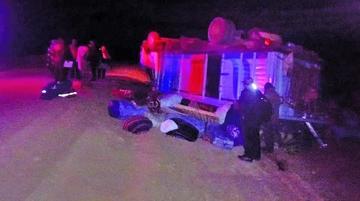 Accidente deja un muerto en la la carretera Uyuni-San Cristóbal