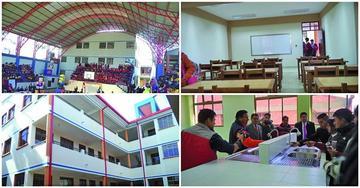 Invierten Bs 4.6 millones para ampliar el Colegio Medinaceli