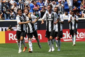 Juventus vence a Benfica sin Cristiano Ronaldo