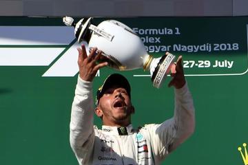 Hamilton impone su ley en el GP de Hungría