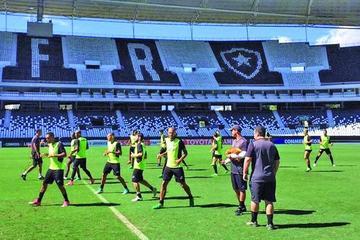 Botafogo recupera a tres titulares para enfrentar mañana a Nacional de Paraguay