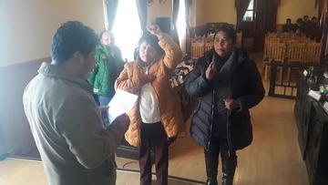 El Concejo completa directiva al elegir a Ugarte y Vilacahua