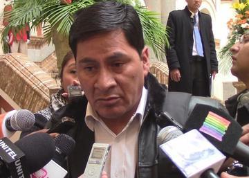 Cejas pide a oficialistas y opositores no afectar los actos del 6 de agosto