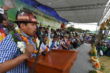 La COB proclama a Morales como candidato presidencial para 2019