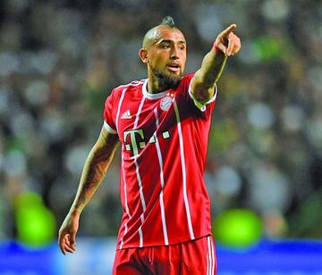 Arturo Vidal es el nuevo refuerzo de Barcelona