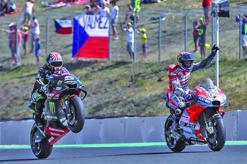Dovizioso es el más rapido en el GP de la República Checa de MotoGP