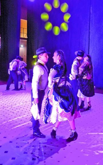 Siete países participan en el festival de danza esta noche