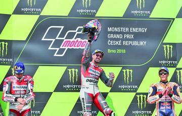 Dovizioso se adueña del GP de la República Checa de MotoGP