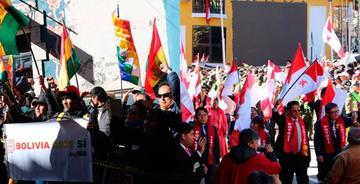 El 193 aniversario de Bolivia se celebra en medio de división