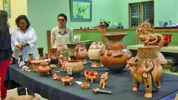 Costa Rica exhibe piezas  arqueológicas restauradas