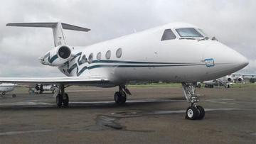 Denuncian que el dueño del lujoso jet fue extorsionado
