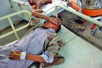 Un bombardeo causa decenas de niños fallecidos en Yemen