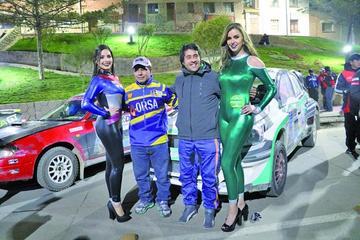 Mauricio Sandoval se convierte en el piloto más joven en un nacional