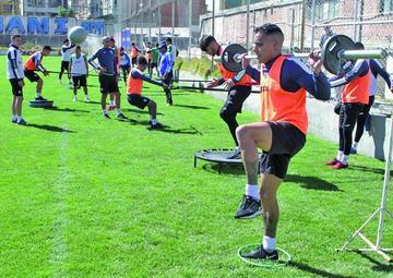Bolívar espera recuperar a sus jugadores lesionados