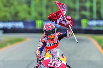 Márquez es el más rápido en los entrenamientos libres del GP de Austria de MotoGP