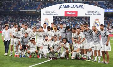 Real Madrid gana el Trofeo Santiago Bernabéu