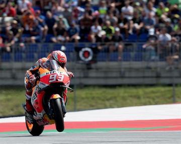 Márquez se impone por segunda vez en los entrenamientos para el GP de Austria