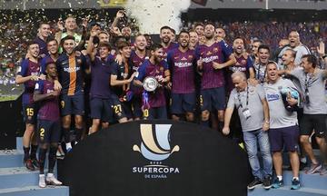 Barza gana su decimotercera Supercopa de España
