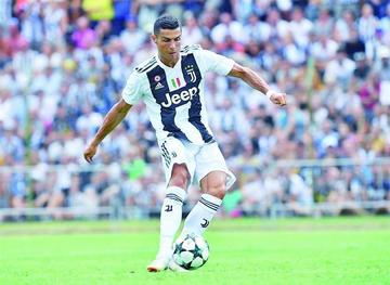 Cristiano Ronaldo marca su primer gol con Juventus