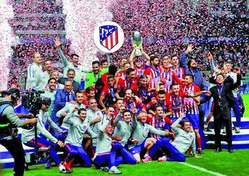 Atlético conquista su tercera Supercopa de Europa