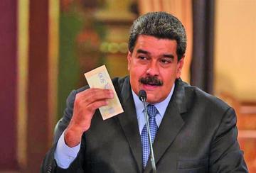 Nicolás Maduro sube 35 veces el salario mínimo de Venezuela