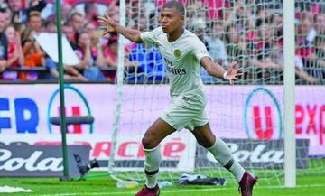 Kylian Mbappe le da la victoria a París Saint Germain sobre Guingamp