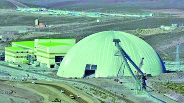 Minera San Cristóbal aporta más del 50 por ciento de las regalías