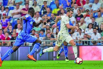 "Real Madrid vence a Getafe en el ""Bernabéu"""