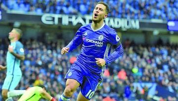 Eden Hazard dice que por ahora no irá al Madrid y que está feliz en el Chelsea