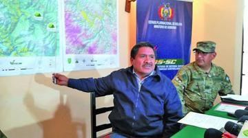 Gobierno: hay pozas de maceración de droga en el Polígono 7 del Tipnis