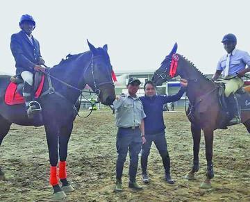 Potosinos se coronan en el campeonato Ecuestre de Salto en Cochabamba